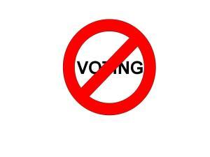 no-voting