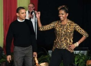 Barry and Michelle